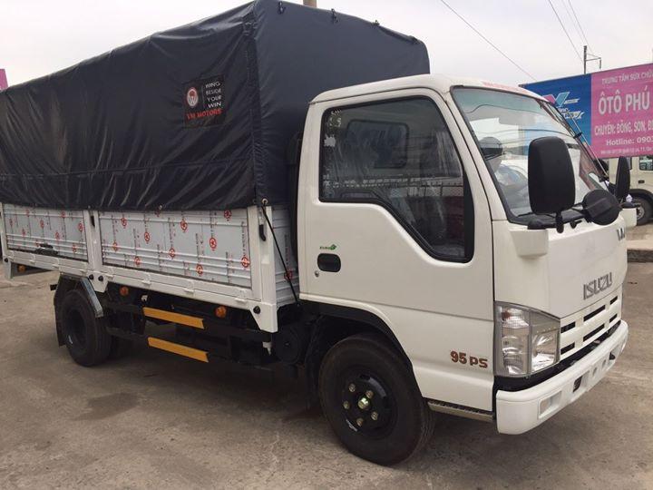 3. Xe tải Isuzu Vĩnh Phát QHR650