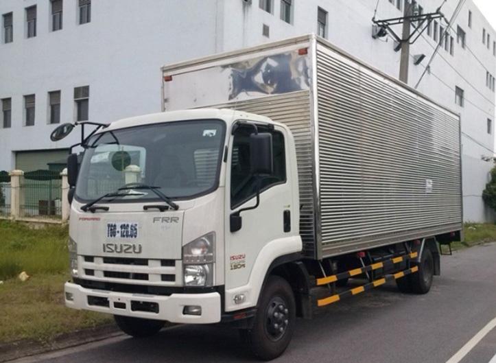 Xe tải Isuzu 6.2 tấn thùng mui bạt siêu dài